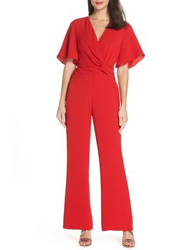 Twist Front Jumpsuit by Harlyn