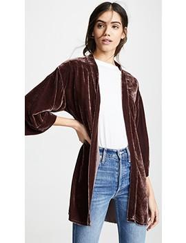 Winslow Velvet Bed Jacket by Nation Ltd
