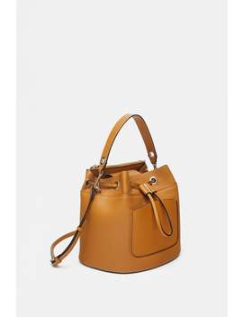 Zippered Bucket Bag  Special Priceswoman by Zara