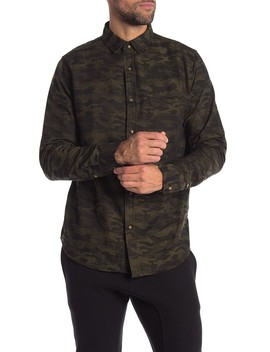 Trap Camo Print Regular Fit Shirt by Sovereign Code
