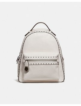 Campus Backpack With Rivets by Coach