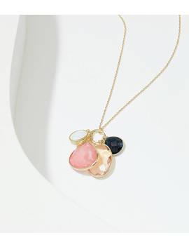 Stone Cluster Pendant Necklace by Loft