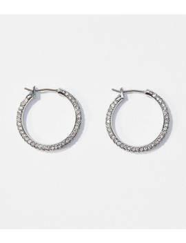 Crystal Hoop Earrings by Loft