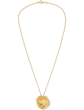 The Floating Questions Gold Plated Necklace by Alighieri