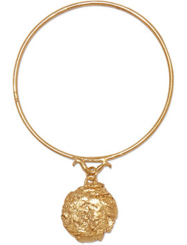 The Fortune Charm Gold Plated Bracelet by Alighieri