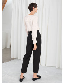 Tapered Belted Pants by & Other Stories