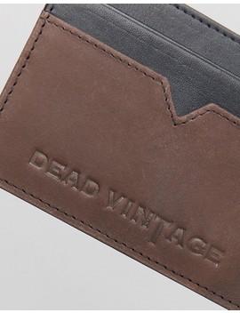 Dead Vintage Leather Cardholder by Cardholder