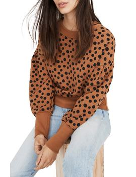 Pleat Sleeve Sweatshirt by Madewell