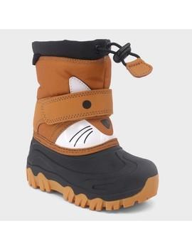 Toddler Boys' Bernardo Wolf Winter Boots   Cat & Jack™ by Cat & Jack