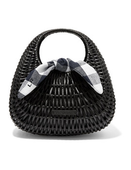 Lorna Rattan And Gingham Canvas Tote by Loeffler Randall