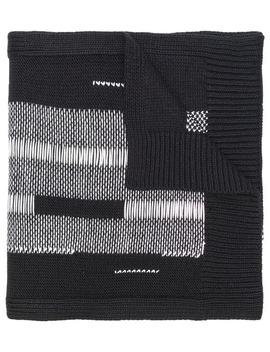 Chunky Knit Scarf by Y 3