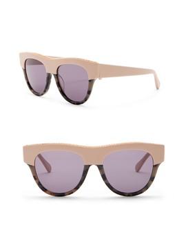 51mm Chain Browline Sunglasses by Stella Mc Cartney