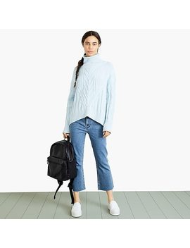 Nevereven Cable Knit Turtleneck Sweater by J.Crew