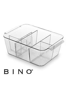 Bino Multi Purpose Plastic Drawer Organizer, 8 Section Deep by Bino