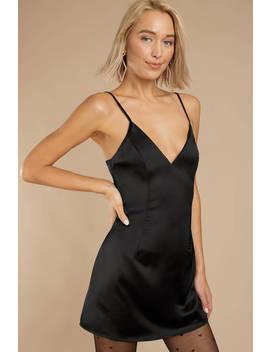 Lost In Love Black Dress by Tobi