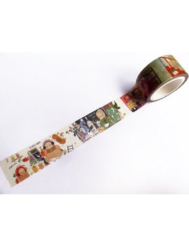Limited Edition Harry Potter Kawaii Washi Tape Roll by Etsy