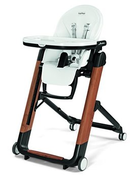 Peg Perego Siesta Ambiance High Chair, Ambiance Brown by Peg Perego