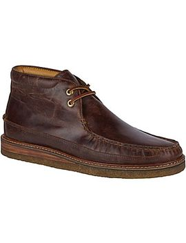 Men's Gold Cup Leather Crepe Chukka by Sperry