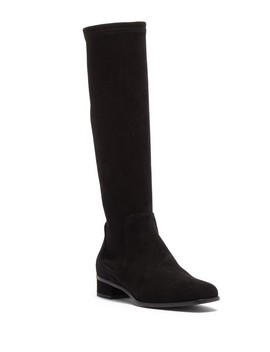 Lina Waterproof Suede High Boot by Aquatalia