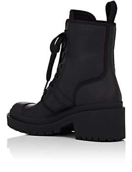 Bristol Coated Twill Ankle Boots by Marc Jacobs