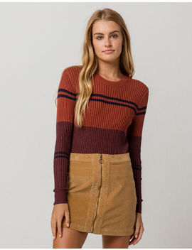 Rvca Even Striped Womens Sweater by Rvca