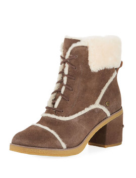Esterly Lace Up Shearling Booties by Ugg Australia