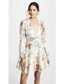 Heathers Flounce Short Dress by Zimmermann