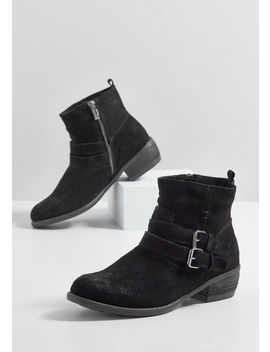 Walks For Me Suede Boot by Modcloth