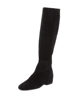 Ursa Weatherproof Suede Knee Boots by Aquatalia