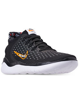 Men's Free Rn 2018 Just Do It Running Sneakers From Finish Line by Nike