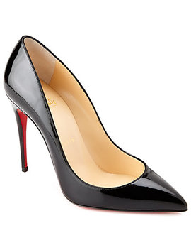Christian Louboutin Pigalle Follies 100 Patent Pump by Christian Louboutin