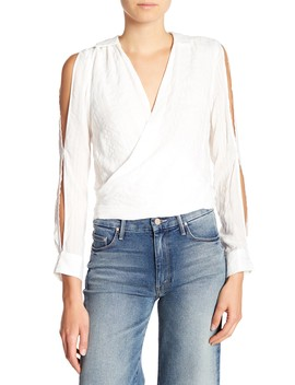 Split Long Sleeve Top by Etienne Marcel