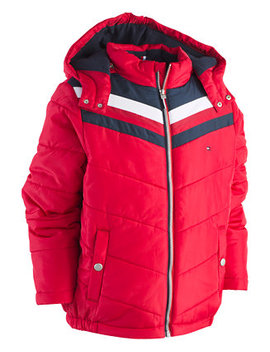 Little Boys David Hooded Puffer Jacket by Tommy Hilfiger