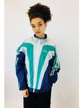 Vintage 80s Adidas Originals Shell Jacket by Adidas