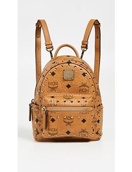 Mini Stark Studs Backpack by Mcm