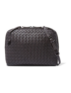 Nodini Intrecciato Leather Shoulder Bag by Bottega Veneta