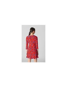 Mimi Tulip Silk Wrap Dress by Whistles