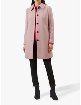 Hobbs Carron Coat, Pale Pink by Hobbs