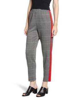 Side Stripe Glen Plaid Pants by Bp.