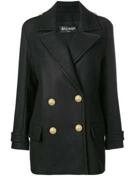 Buttoned Military Jacket by Balmain