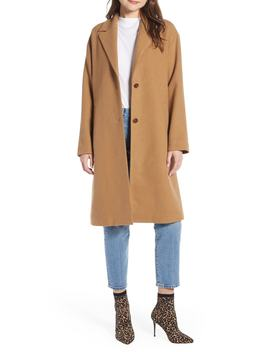 Longline Coat by Something Navy