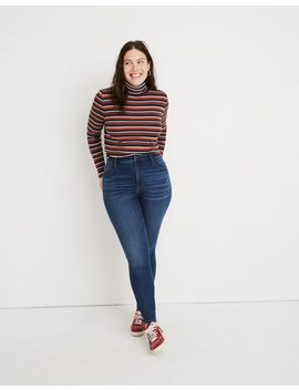 Petite Curvy High Rise Skinny Jeans In Tarren Wash: Thermolite® Edition by Madewell