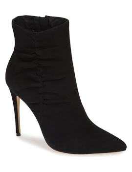 Arianna Ruched Bootie by Something Navy
