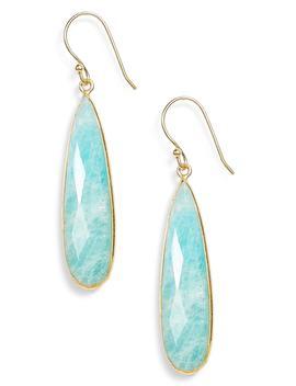 Newport Semiprecious Stone Teardrop Earrings by Jemma Sands