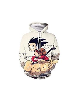 Gold Bucket Unisex Fashion Hoodies 3 D Dragon Ball Z Naruto More by Gold Bucket