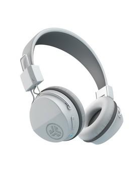 J Lab Neon Wireless On Ear Headphones   White by J Lab
