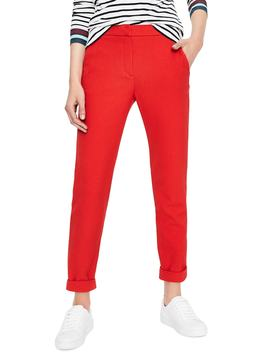 Stretch Crepe Crop Pants by Boden