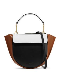 Hortensia Mini Color Block Leather Shoulder Bag by Wandler