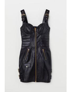 Vestido De Piel by H&M