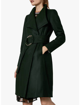 Ted Baker Rayay Coat, Dark Green by Ted Baker